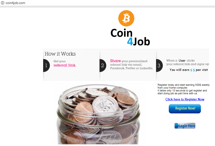 is coin4job.com a scam