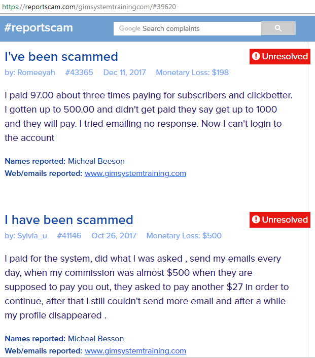 is copymyemailsystem.com a scam