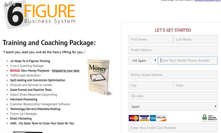 is secret millionaire training a scam