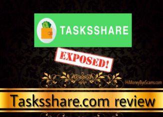 is tasksshare.com a scam