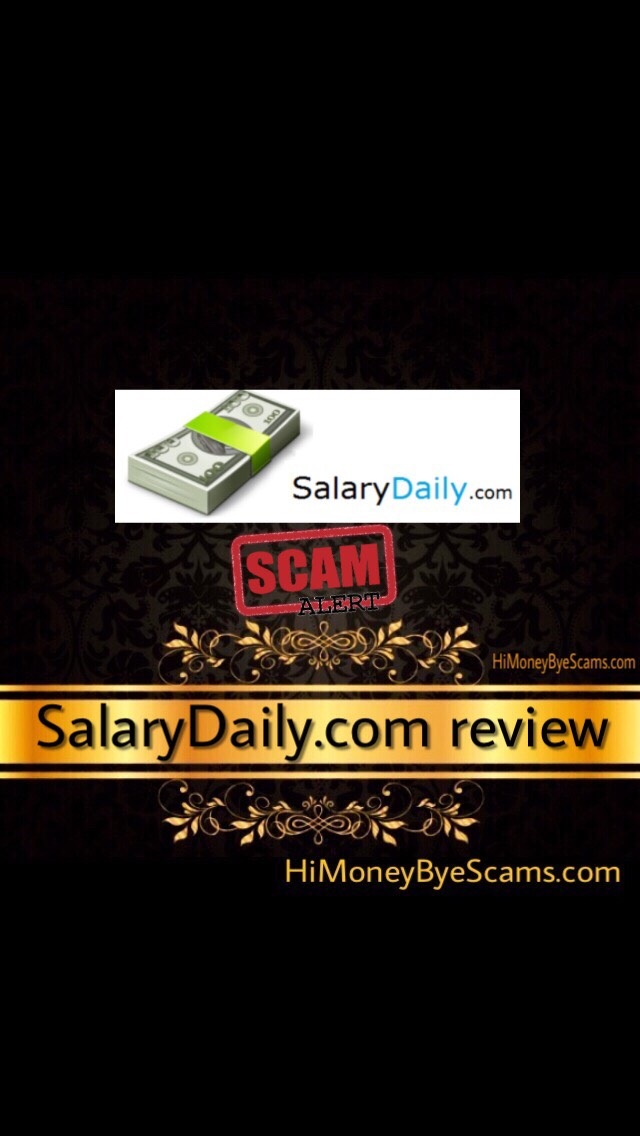 is salary daily a scam? salarydaily review here