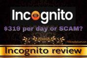 is incognito a scam