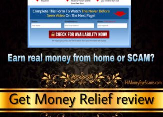 is get money relief a scam