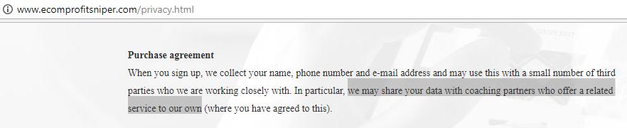 is ecom profit sniper a scam