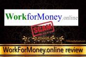 Is Workformoney.online a scam?