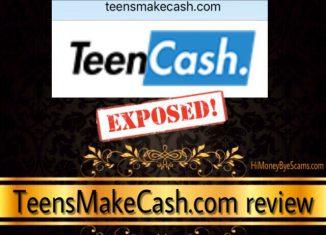 Is Teensmakecash.com a scam?