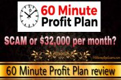 Is 60 Minute Profit Plan a scam?