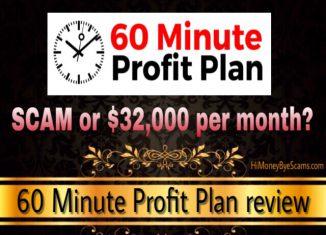 Is 60 Minute Profit Plan a scam?
