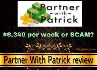 Is Partner With Patrick a scam?