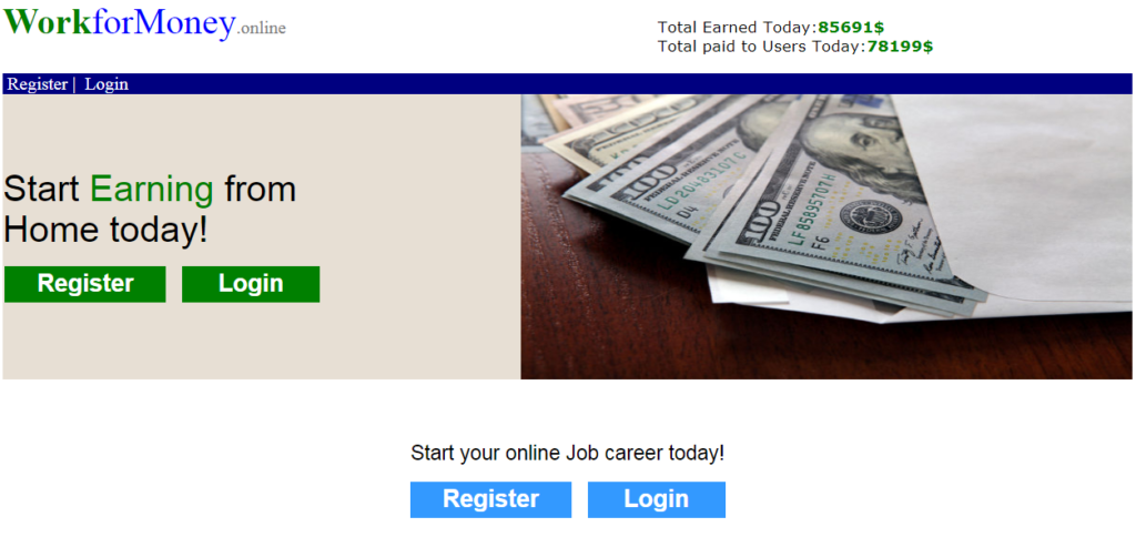 Is Workformoney.online a scam?