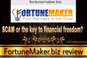Is FortuneMaker a scam?