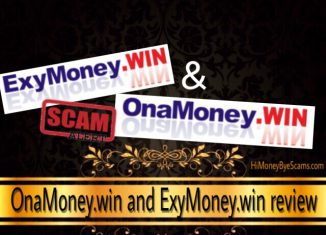 OnaMoney.win and ExyMoney.win scam