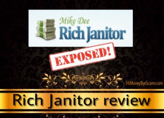 Is Mike Dee Rich Janitor a scam?