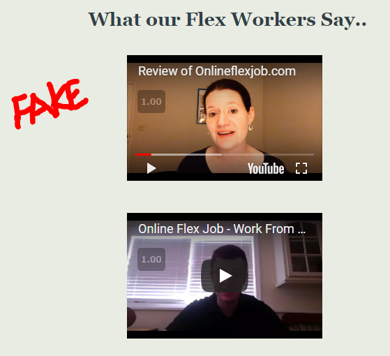 Is Online Flex Job a scam?