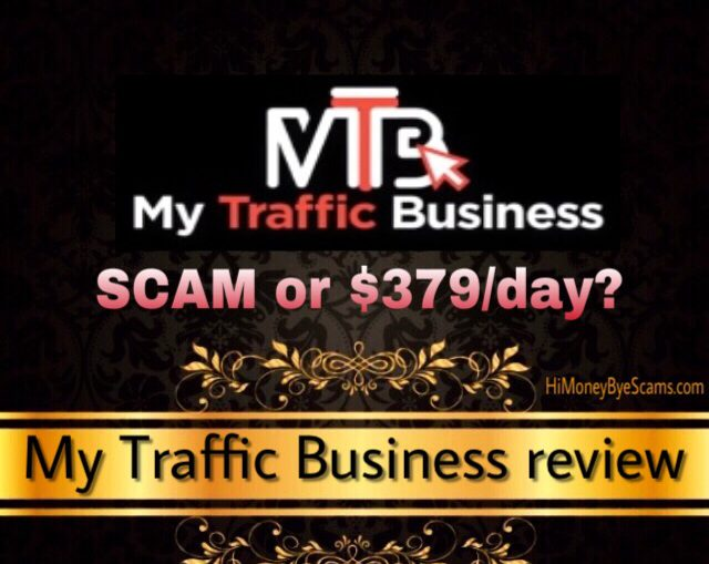 Is My Traffic Business a scam? Yes! 7 RED FLAGS revealed [Pro.mytraffic.biz review]