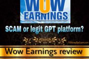 Is Wow Earnings a scam? It's very OUTDATED! [Honest review]