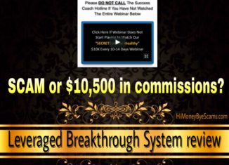 Leveraged Breakthrough System review - Is it a scam? TRUTH here!