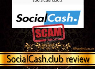 SocialCash.club is a scam! TRUTH in this review