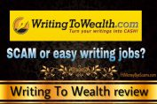 Is Writing To Wealth a scam? My SHOCKING DISCOVERY revealed! [Review]