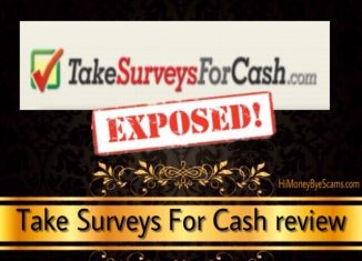 Take Surveys For Cash review - 7 SCAM SIGNS exposed here!
