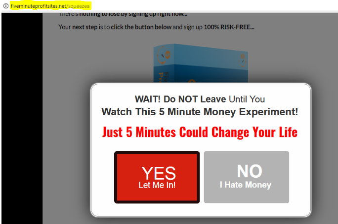 Five Minute Profit Sites review - Is it a scam? See my shocking discovery!