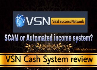 Is VSN Cash System a scam? What others HIDE from you...