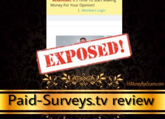 Is Paid-Surveys.tv a scam? Yes! 5 UGLY TRUTHS revealed!