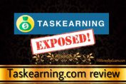 Taskearning.com scam - TRUTH EXPOSED here!