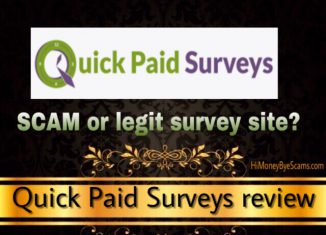 Is Quick Paid Surveys a scam? See the COMPLAINTS!