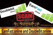 EarnFast.online and DoubleBit.online scam - Avoid these frauds!