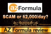 Is AZ Formula a scam? See the LIES they told you! [Honest review]