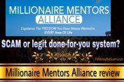 Millionaire Mentors Alliance scam