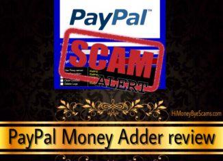 PayPal Money Adder scam
