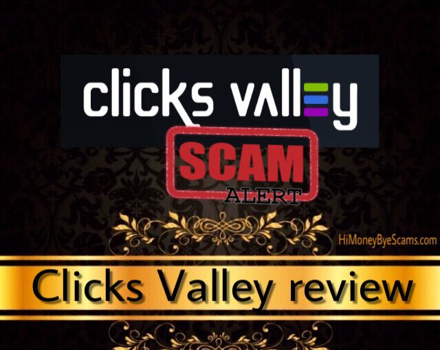Clicks Valley review scam