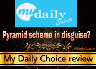 Is My Daily Choice a scam? Review