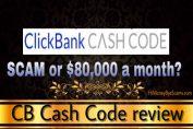 CB Cash Code review scam