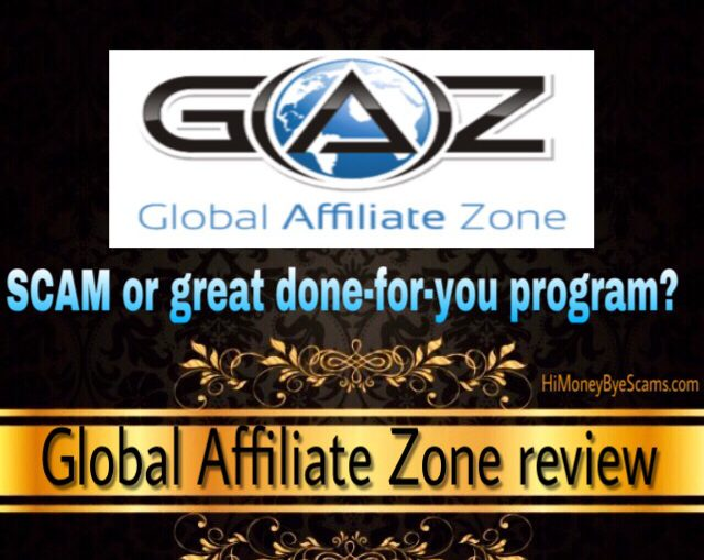 Is Global Affiliate Zone a scam? Review