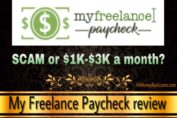 Is My Freelance Paycheck a scam? Review