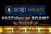 Is Secret Affiliate Website a scam? Review