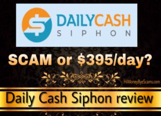 Daily Cash Siphon scam review