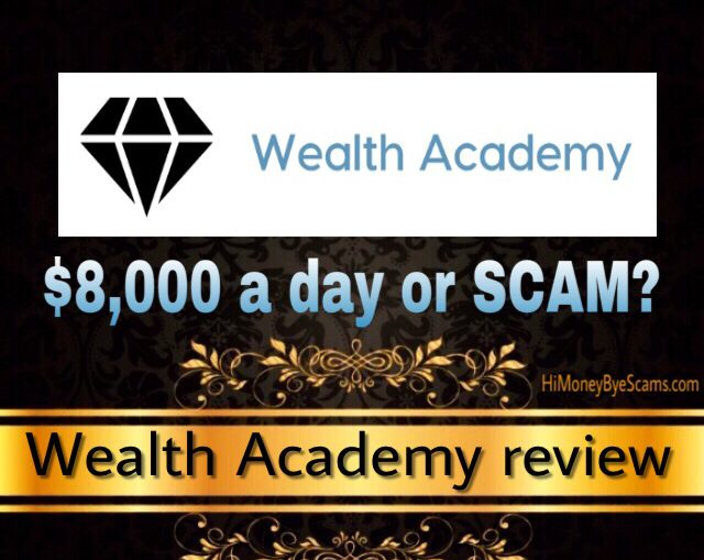WealthAcademy.click review scam