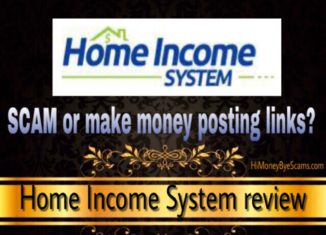 Home Income System scam review