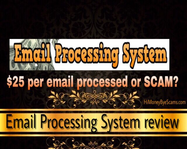 Email Processing System scam review