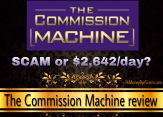 Is The Commission Machine a scam review