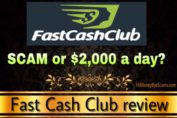 Fast Cash Club review scam