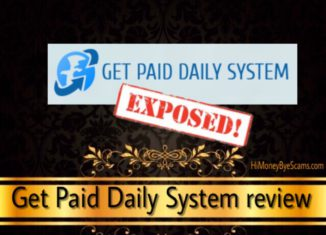Get Paid Daily System review scam