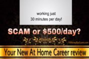 Is Your New At Home Career a scam review