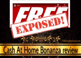 Cash At Home Bonanza scam review