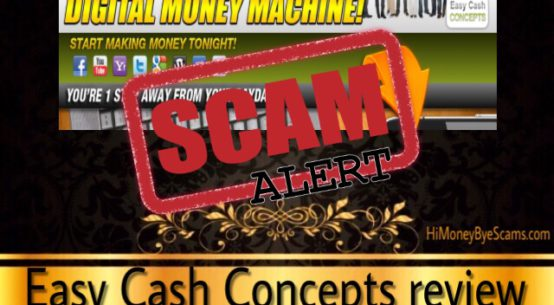 Easy Cash Concepts scam review