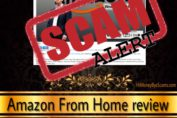 Amazon From Home scam review